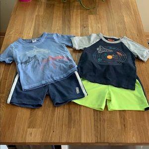 Oshkosh Toddler Shorts and Tee Bundle